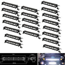 20x 30W SLIM 7INCH LED WORK LIGHT BAR SINGLE ROW OFFROAD DRIVING CAR TRUCK LAMP