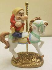 Disney New England Collector's Society Carousel Grumpy Horse Figure