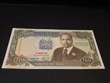 Kenya. 200 Shillings. 1994. P29f. UNC. See Photos. *67