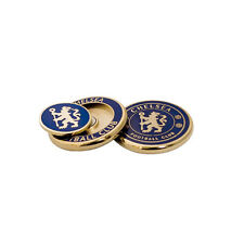 CHELSEA DUO GOLF BALL MARKER SET - NEW OFFICIAL LICENSED PRODUCT