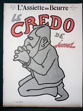 L'Assiette au Beurre #163 Le Credo de Jossot 1904 French Satire Art
