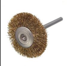 Brass Wire Brush Round Brushes  Pot Brush 5Pcs Perfect for mini grinder