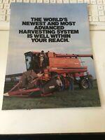 CASE Brochure Harvesting System  (Folder 2)