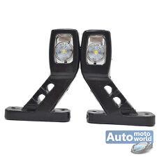 2x LED Begrenzungsleuchte Umrissleuchten Leuchten LKW Anhänger 12V 24V Volt A16