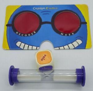 Cranium CADOO  Replacement Parts Pieces  Decoder Goggles Dice Timer