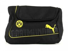 PUMA Cosmetictasche BVB evoPower Wash Bag Cyber Yellow-Black