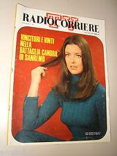 RADIOCORRIERE TV 1970/10=ILARIA OCCHINI=FESTIVAL SANREMO=NINO FERRER=ELZA SOARES