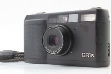 [ Exc++++ ]  Ricoh GR1s Black 28mm f2.8 35mm Film Camera From Japan