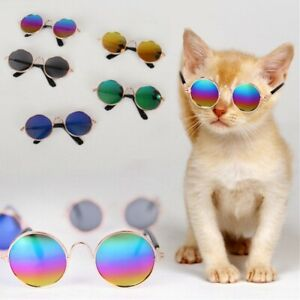Small Cat Dog Sunglasses Glasses Costume Cute Pet Toy Kitten Cosplay Props Cool