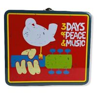 Woodstock 50th Anniversary 3 Days Of Peace & Music Tin Lunch Box-2019
