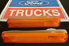 74-80 FORD F100 PARTS F100 F250 F350 GUARD INDICATOR LIGHT LENS X2 NEW