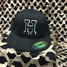 New Hk Army Flex Fit H Hat - Black - Small/Medium
