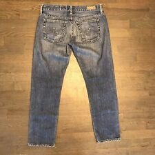 Ag Adriano Goldschmied The Piper Crop Slouchy Slim Stretch Denim Jeans Size 27R