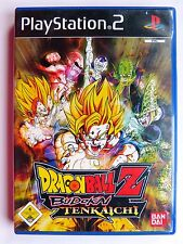 Dragon Ball Z: Budokai Tenkaichi (Sony PlayStation 2, 2005, DVD-box)