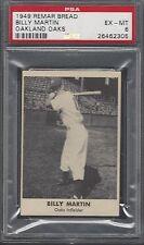 PSA 6 - 1949 Remar Bread - Billy Martin Oakland Oaks PCL (Yankees)