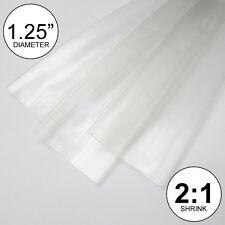 125 Id Clear Heat Shrink Tubing 21 Ratio 1 14 Wrap 2 Feet Inchftto 30mm