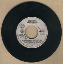 "PHILIPPINES:STRAWBERRY SWITCHBLADE - Who Knows What Love Is?/Secret ,7"" 45 RPM"