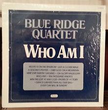 canaan BLUE RIDGE QUARTET WHO AM I LP vinyl