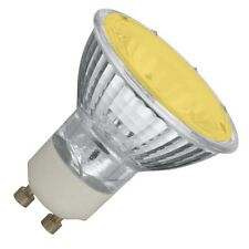 COLOURED 50W GU10 LAMPS Blue, Red, Green, Yellow