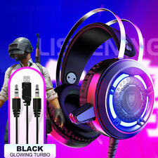 NUBWO N1 computer game headset,Black glowing turbo edition