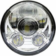 "Wisamic 5-3/4"" 5.75"" LED Projection Headlight for Harley-Davidson Motorcycles 9"