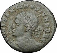CONSTANTINE II Constantine the Great son Ancient Roman Coin Camp Gate  i50766