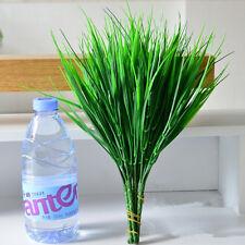 Hot Sale Artificial Plants Plastic Grass Leaves For Home Shop Garden Decoration