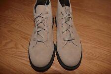 NEW Dr Doc Martens Church Suede Chukka Ankle Boots Milkshake Beige Sz 9