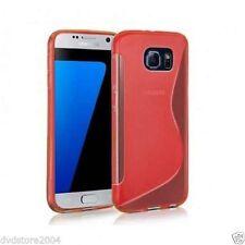 Custodie preformate/Copertine rossi per Samsung Galaxy S7