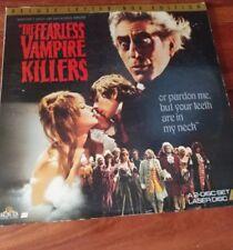 The Fearless Vampire Killers Laserdisc Uncut Uncensored Sharon Tate