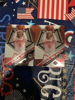 2019-20 Panini Mosaic Will to Win Russell Westbrook Rockets #10 Lot Of 2
