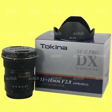 Genuine Tokina AT-X 116 Pro DX-II AF 11-16mm f/2.8 Lens for Canon EOS EF