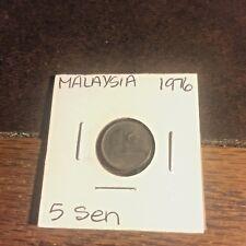 COIN MALAYSIA 1976 5 SEN