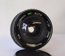 MINOLTA MD Clubman  24mm F2.8 Macro Wide Angle Lens for X300 X500 X700 etc