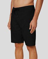 $165 O'Neill Men's Black Swimsuit Swimwear Swim Trunks Surf Board Shorts Size 38
