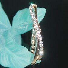 SALE Bridesmaid Prom made with Swarovski Crystal 18K Gold Plated Bracelet