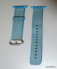 Genuine Sports Royal Woven Nylon Band Strap Apple Watch1/2 Blue 42mm
