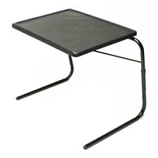 Table Mate V Original Wheelchair Tray and Overbed Table (Black)