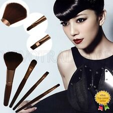 NEUF LUXE 4pcs Pro Maquillage Brosses Set Base Blush sourcil Maquillage Pinceaux