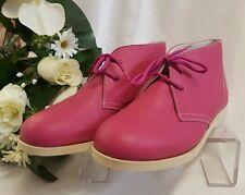 Enfants Filles Chaussures baskets bottes Fabriqué Italie fuchsia 112b 34