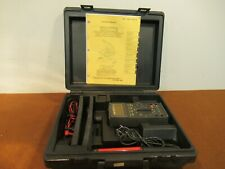 Military Fluke 27/Fm Multimeter with Attachments and Hard Case