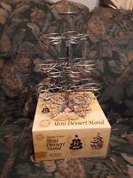 Wilton Mini Cupcake Stand Tree Dessert Rack Holds 24 Mini Cupcakes