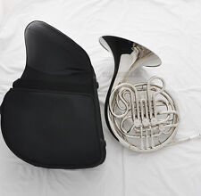 Professional nickel Silver 3+1 Key Double French Horn F/Bb Tone With Case