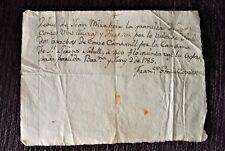 Achat de la Cloche de Sant Llorenç Savall, Contribution 1785