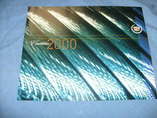 Original 2000 Cadillac Seville Deluxe Sales Brochure 00 CLEAN / b6