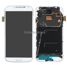 White For Samsung Galaxy S4 i545 L720 R970 LCD Digitizer Screen Replace Frame