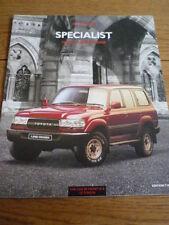 TOYOTA PREVIA & LANDCRUISER CAR BROCHURE, EDITION 2 jm