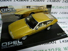 G Coche 1/43 IXO Eagle Moss Opel Colección N° 48 : Amargo CD