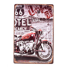 Route 66 Poster Vintage Tin Metal Signs Pub Bar Decor Art Wall Hanging