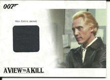 James Bond Archives 2014 Relic card  -  JBR33  Max Zorin's Jacket